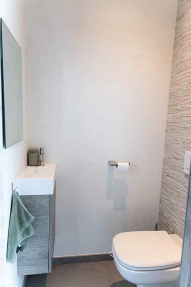 wc badkamer renovatie