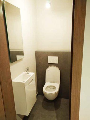 wc en badkamer renovatie